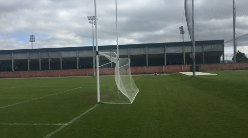 5 Goalposts and behind goal netting