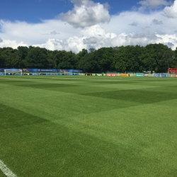 Engish FA training pitch in Chantilly France EURO 2016